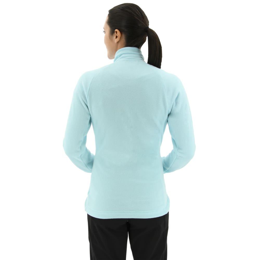 ADIDAS Women's Tivid Fleece Jacket - CLEAR AQUA