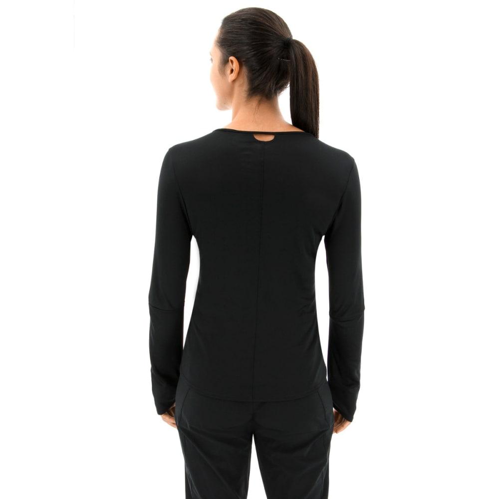 ADIDAS Women's Response Long Sleeve Running T-Shirt - BLACK