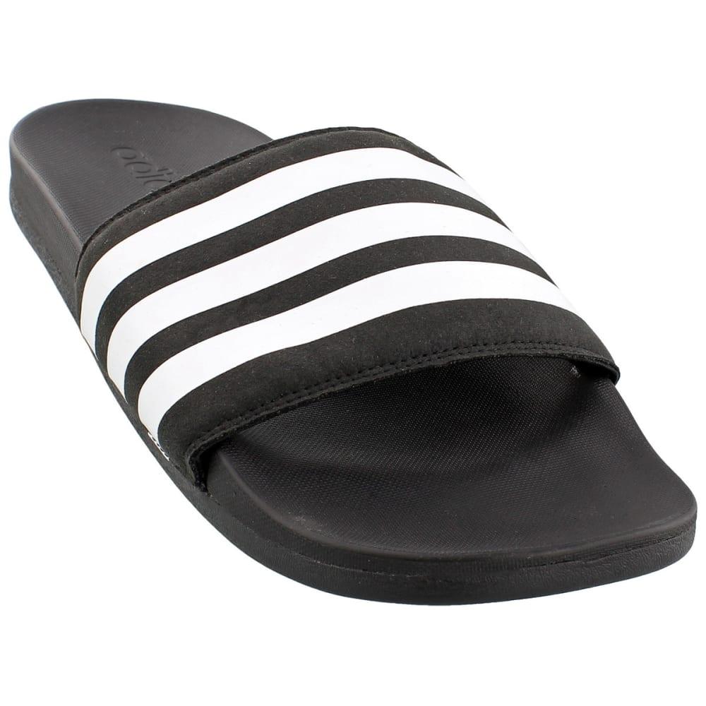 ADIDAS Men's Adilette Ultra Slides - BLACK/WHITE/BLACK