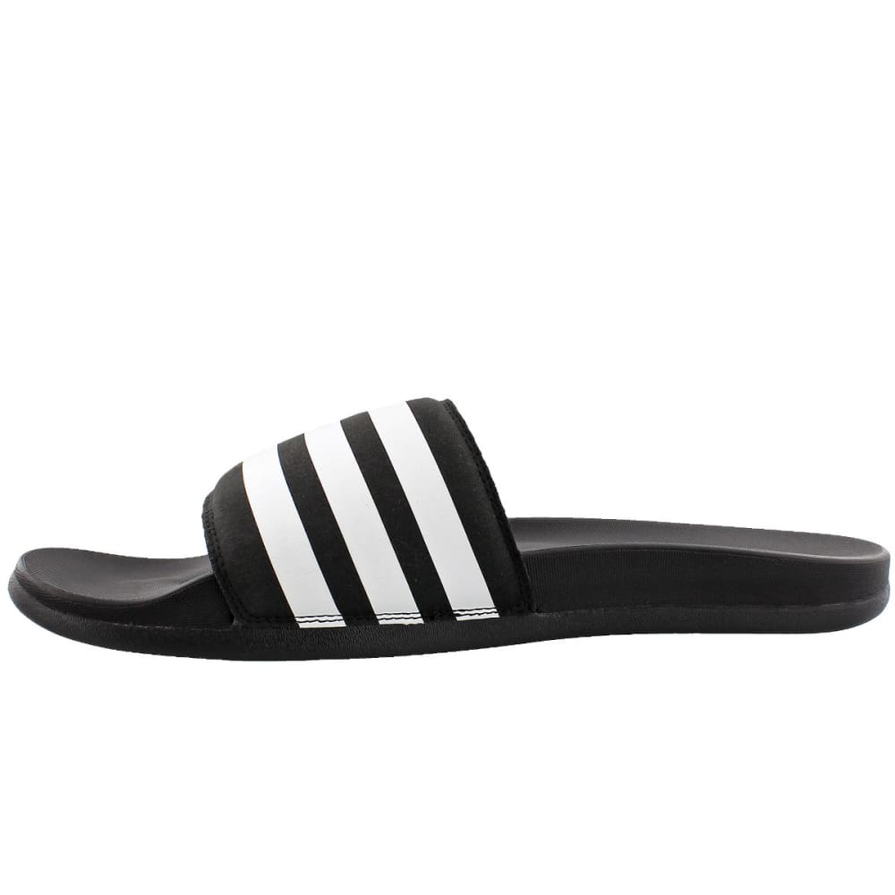 ADIDAS Men's Adilette Ultra Slides - BLACK/WHITE/BLACK
