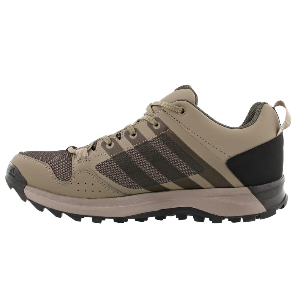 Adidas Men's Kanadia 7 Gtx Trail Running Shoes Utility Grey/black/simple Brown - Black - Size 7 S80834