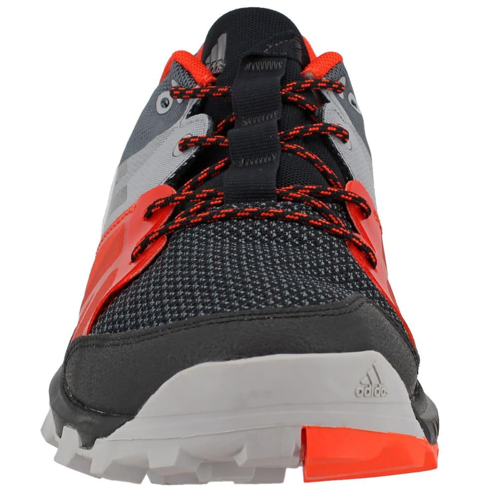 ADIDAS Men's Kanadia 8.1 Trail Running Shoes, Black/Black/Energy - BLACK/BLACK/ENERGY