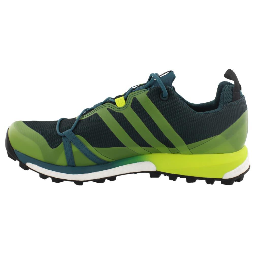 ADIDAS Men's Terrex Agravic GTX Trail Running Shoes, Mystery Green/Semi Solar Yellow/Black - GREEN/YELLOW/BLACK