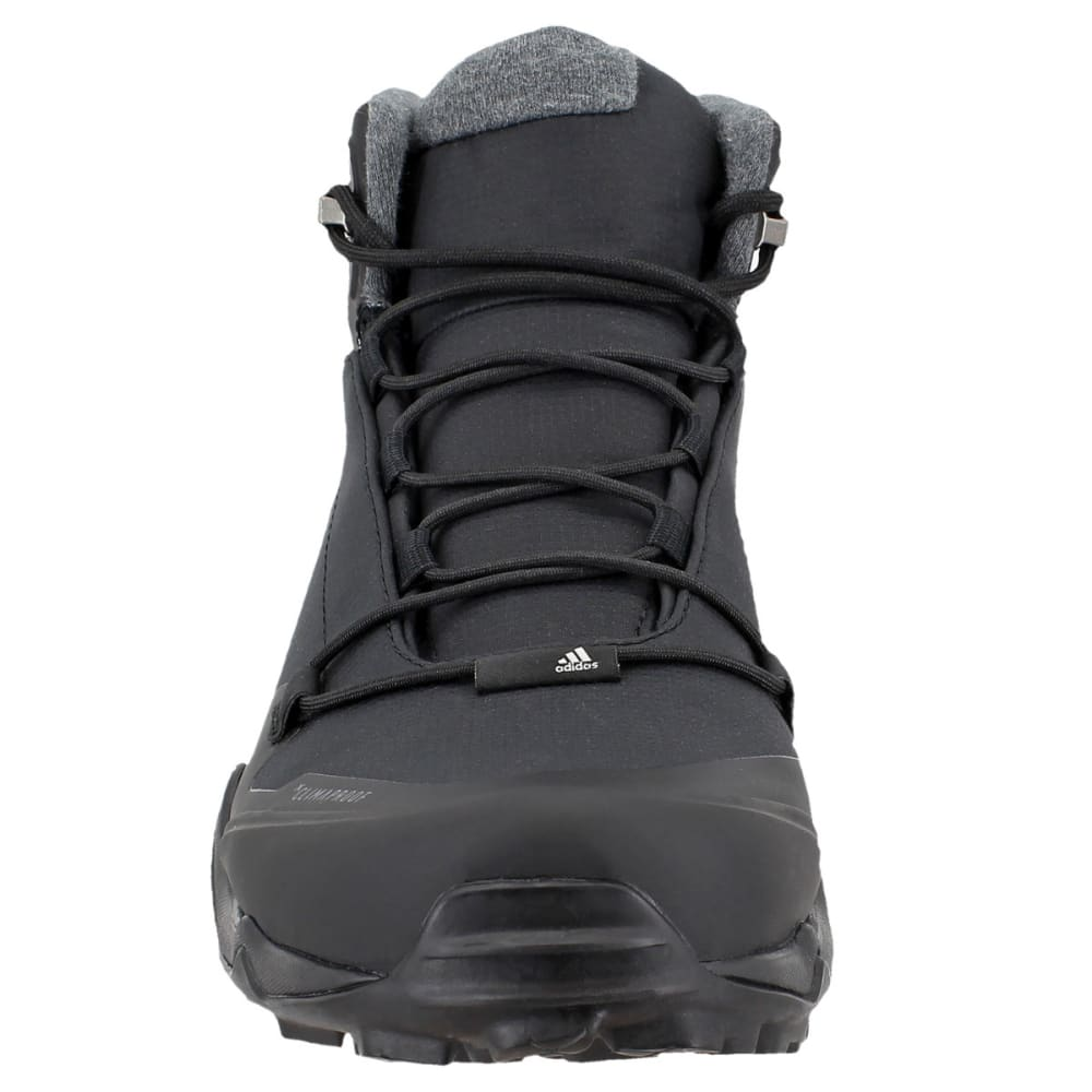 ADIDAS Men's Terrex Fastshell Mid Hiking Shoes, Core Black/Core Black/Grey Five - BLACK/BLACK/GREY