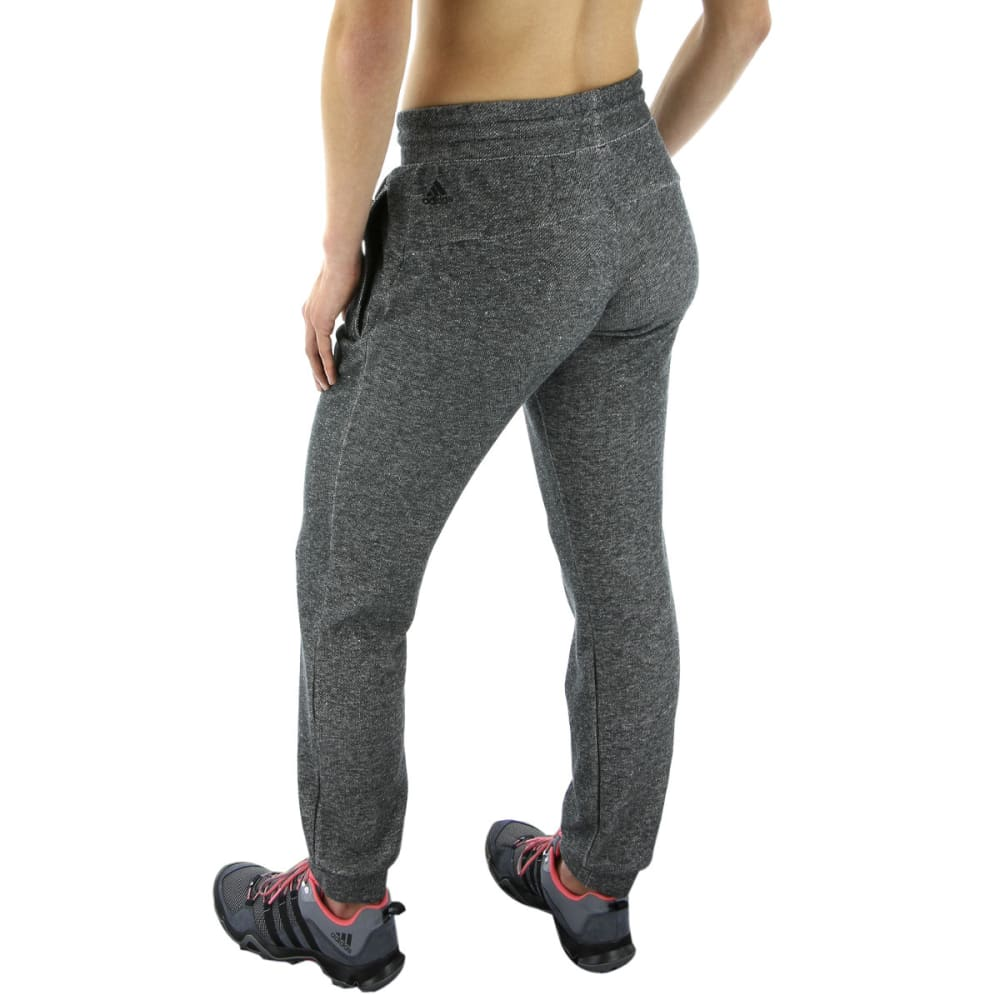 ADIDAS Women's S2S Cuffed Pant - BLACK MELANGE
