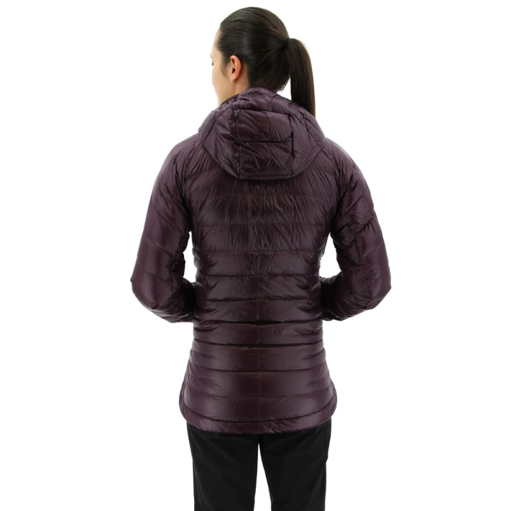 ADIDAS Women's Terrex Climaheat Agravic Down Hooded Jackets - RED NIGHT