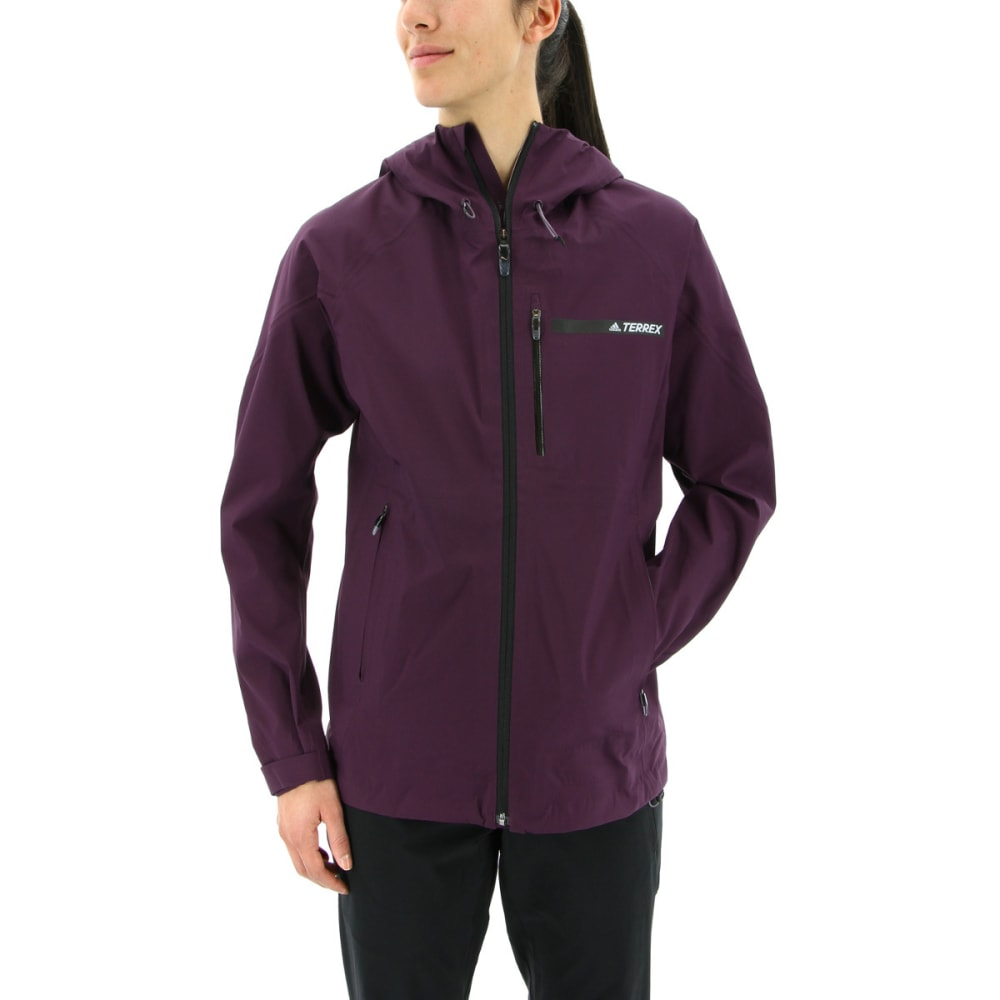 ADIDAS Women's Terrex Fast Gore Tex Active Shell Packable Hooded Jackets