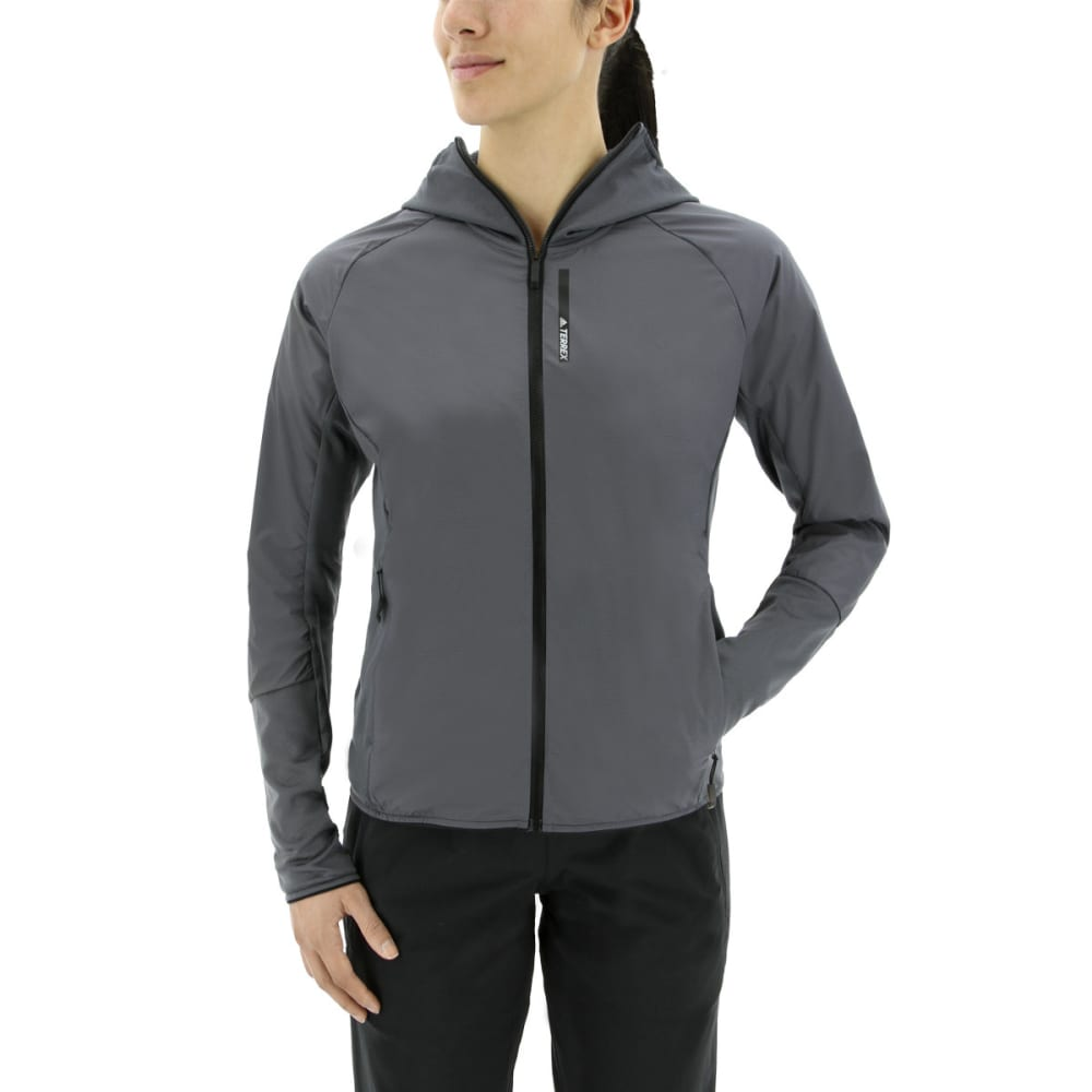 ADIDAS Women's Terrex Skyclimb Fleece Jacket - GREY FIVE