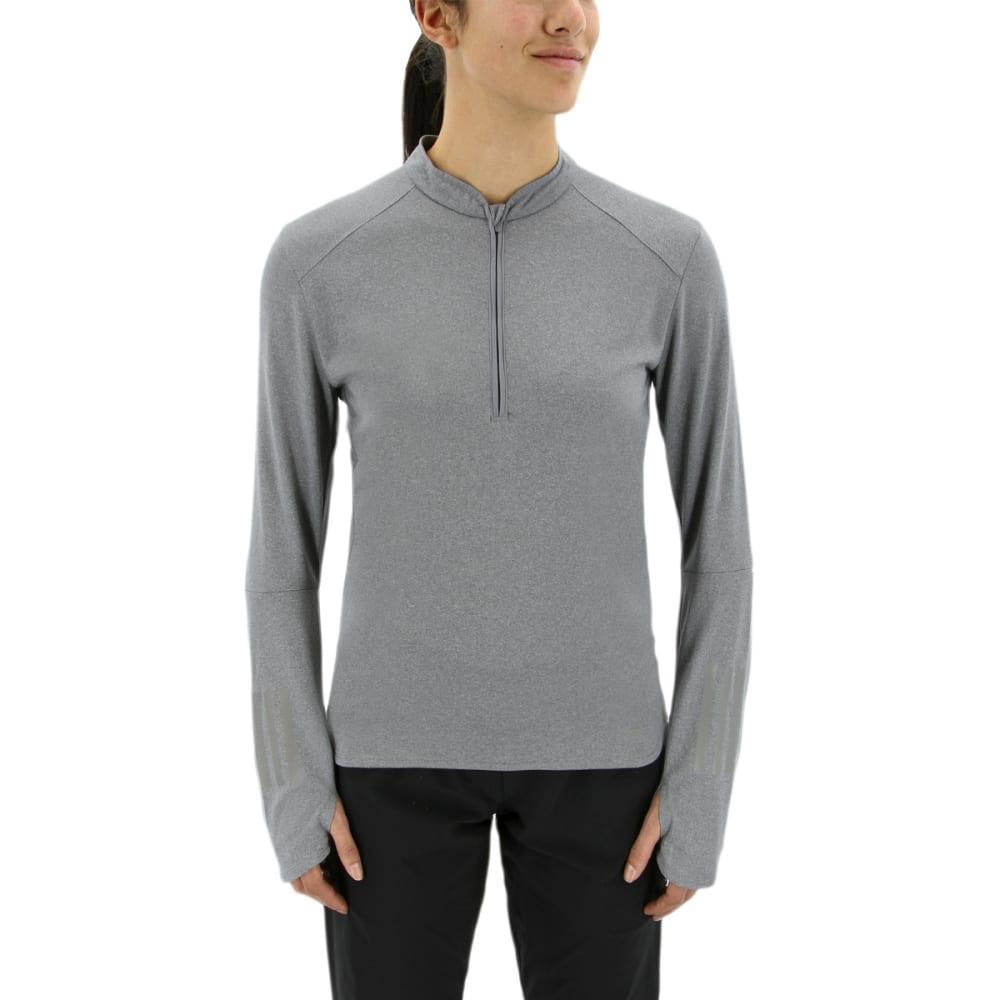ADIDAS Women's Response Long Sleeve Running Sweatshirt - GREY