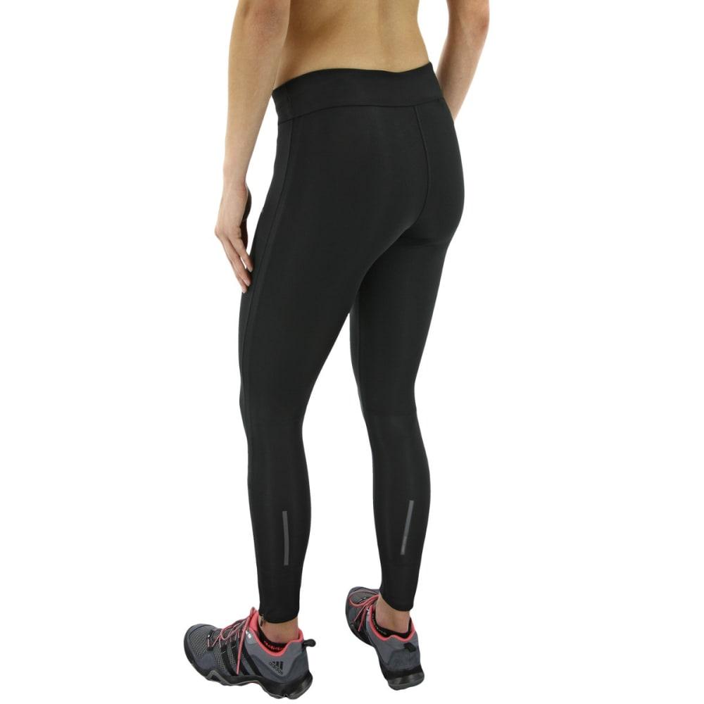ADIDAS Women's Response Long Running Tights - BLACK