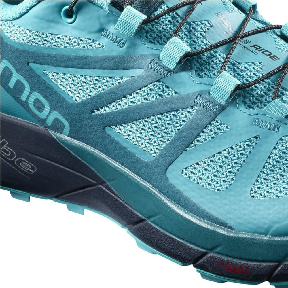 SALOMON Women's Sense Ride Trail Running Shoes, Bluebird - BLUEBIRD L398477