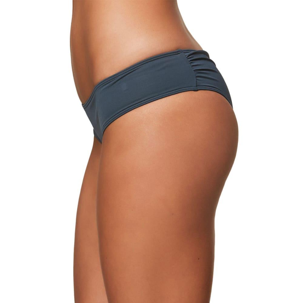 O'NEILL Juniors' Salt Water Solids Hipster Bikini Bottoms - DBL-DEEP BLUE