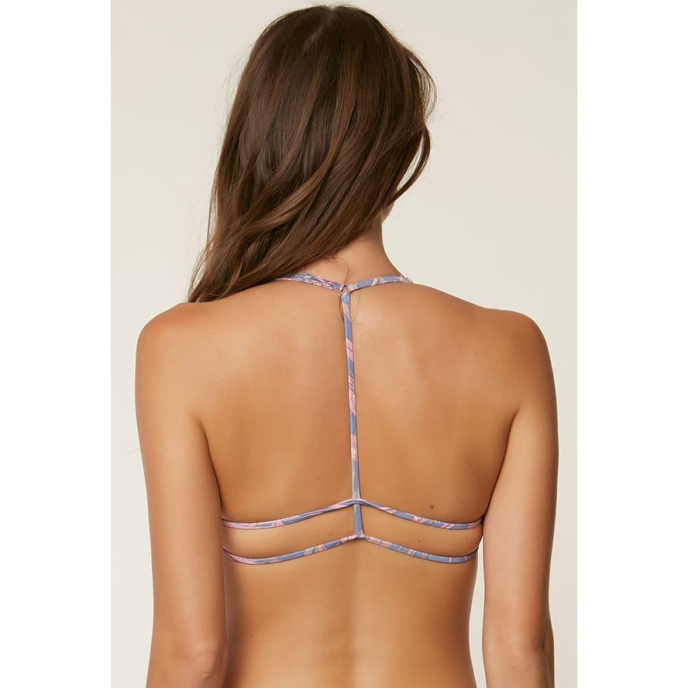 O'NEILL Juniors' Faye Twist Bikini Top - FOG-FOG