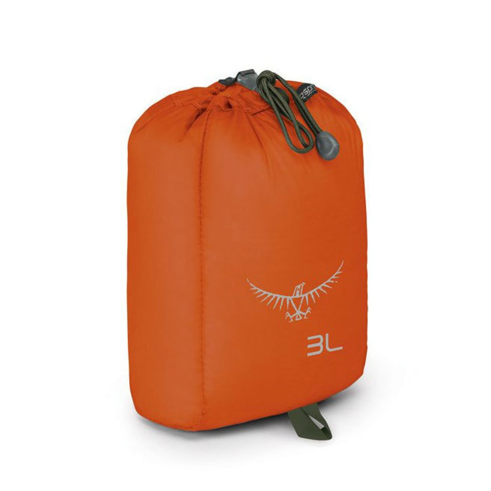 OSPREY 3L Ultralight Stuff Sack - POPPY ORANGE