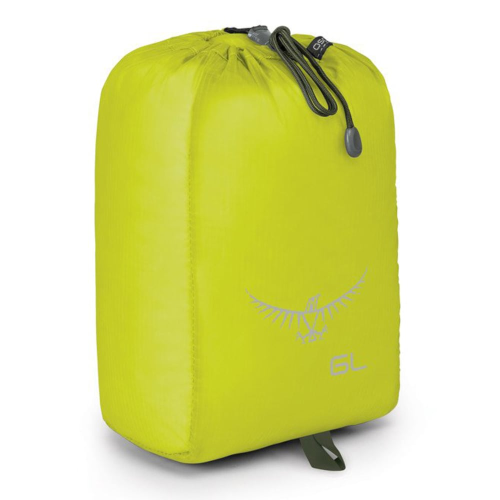 OSPREY 6L Ultralight Stuff Sack - ELECTRIC LIME