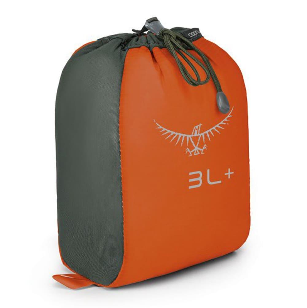 OSPREY 3L Ultralight Stretch Stuff Sack - POPPY ORANGE