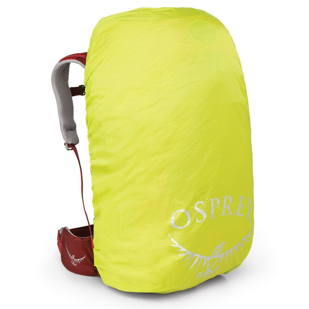 OSPREY High Visibility Raincover, XS - ELECTRIC LIME
