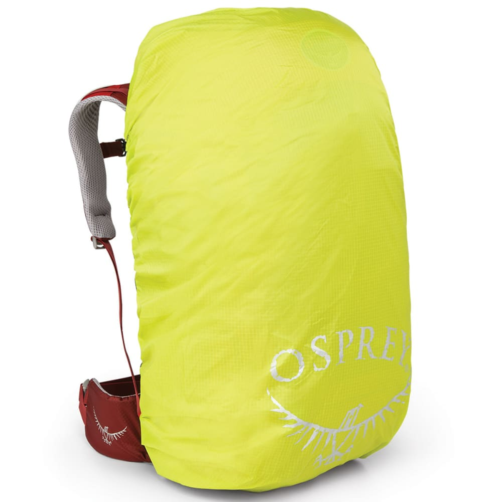 OSPREY High Visibility Rain Cover, Small - ELECTRIC LIME