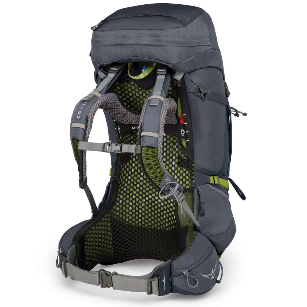 OSPREY Atmos AG 65 Backpacking Pack - ABYSS GREY