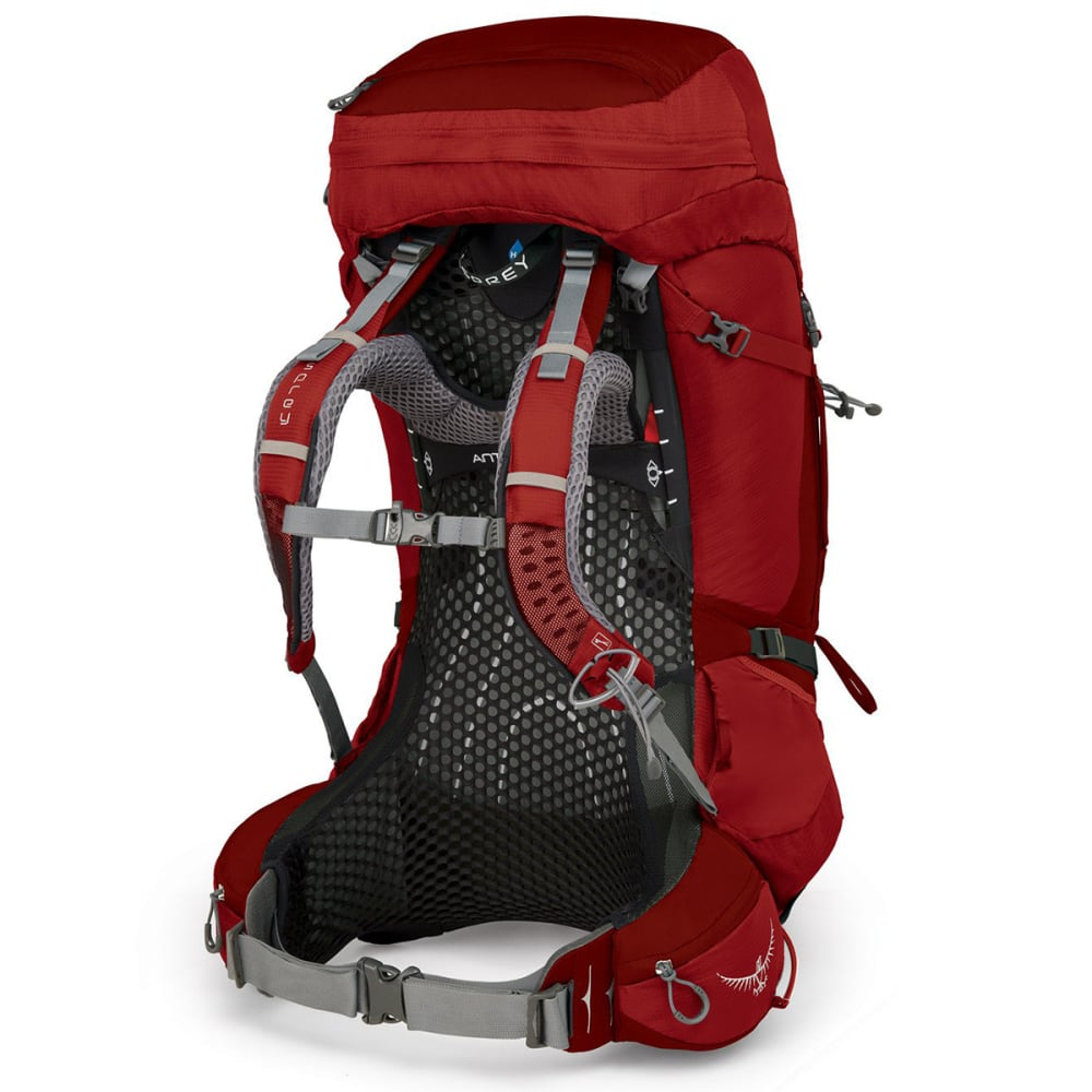 OSPREY Atmos AG 65 Backpacking Pack - RIGBY RED