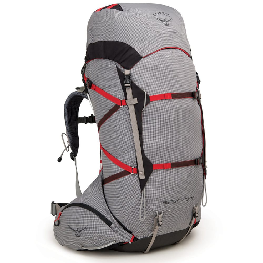 OSPREY Aether Pro 70 Backpacking Pack - KEPLER GREY