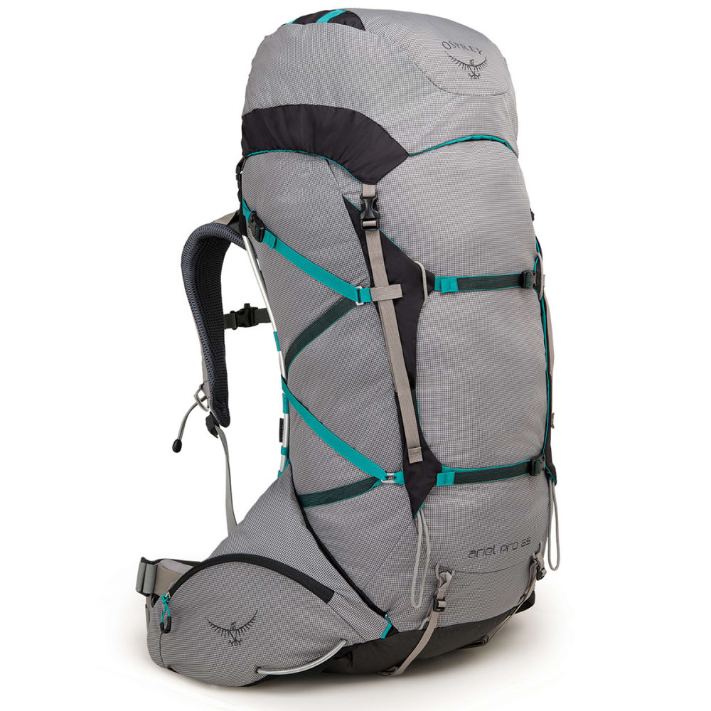 OSPREY Women's Ariel Pro 65 Backpacking Pack - VOYAGER GREY