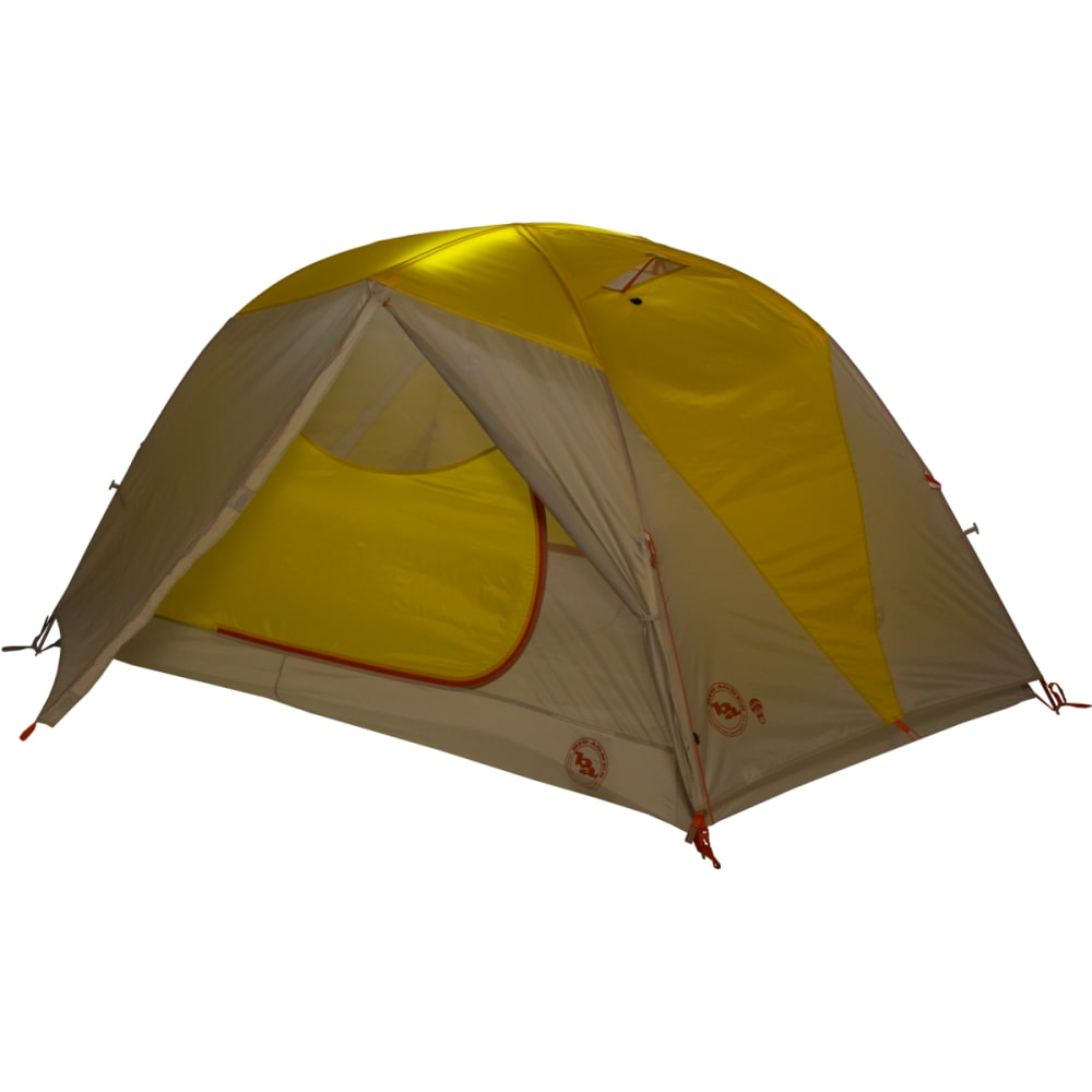 BIG AGNES Tumble 2 mtnGlo Tent - YELLOW/GREY