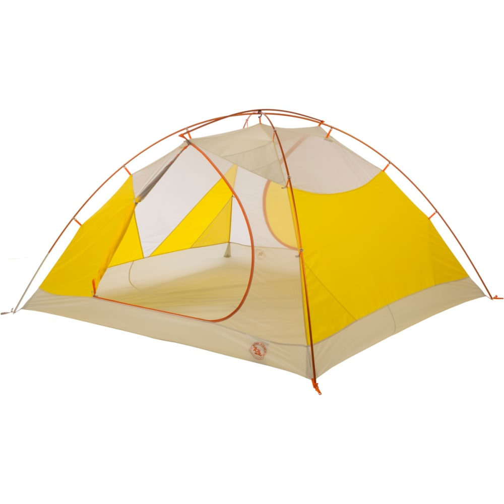 BIG AGNES Tumble 4 mtnGLO Tent - YELLOW/GREY