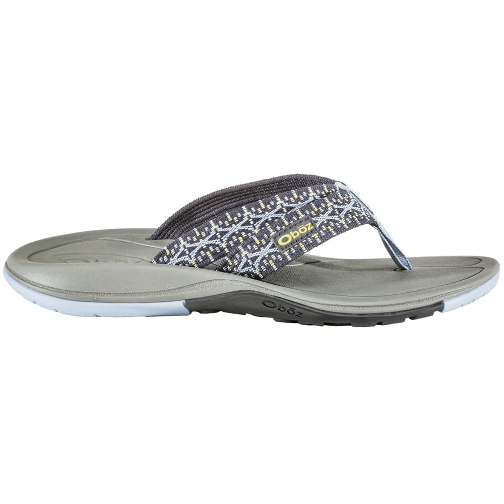 OBOZ Women's Selway Flip Flops - PEBBLE GREY