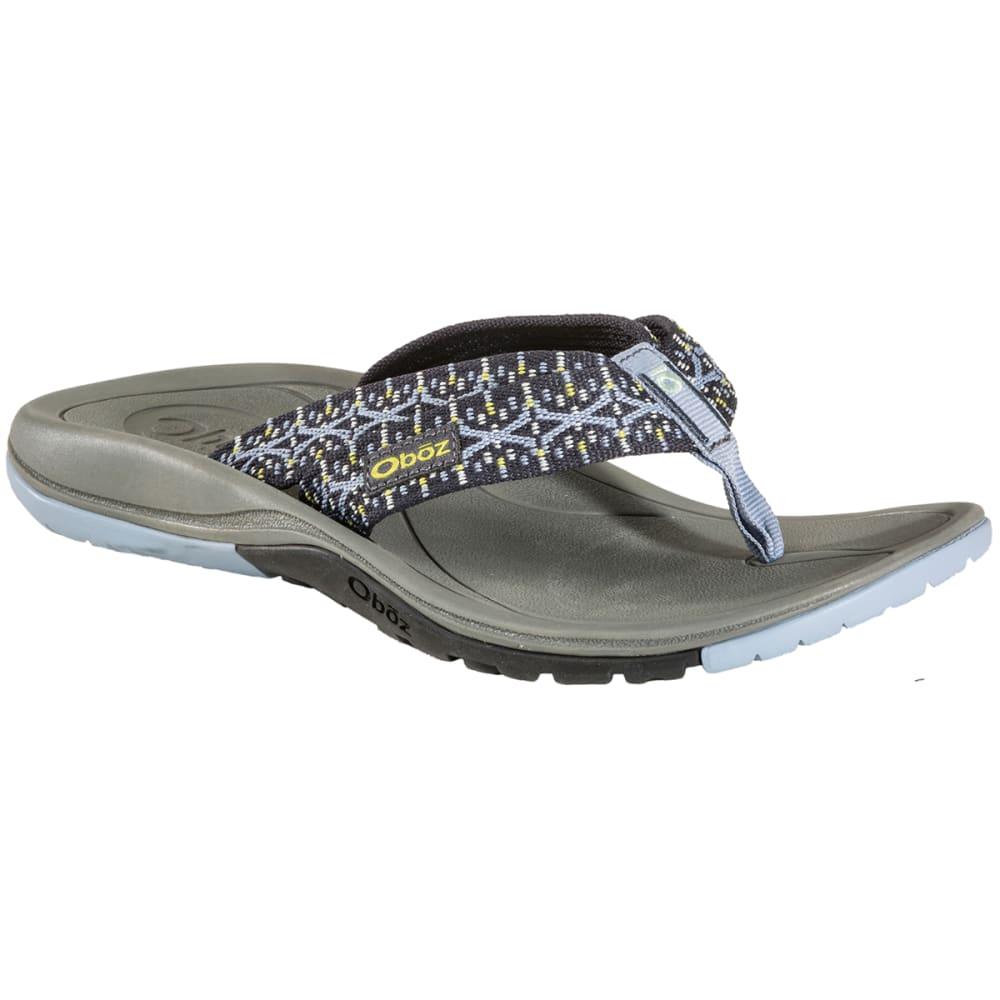 OBOZ Women's Selway Flip Flops - PEBBLE GREY