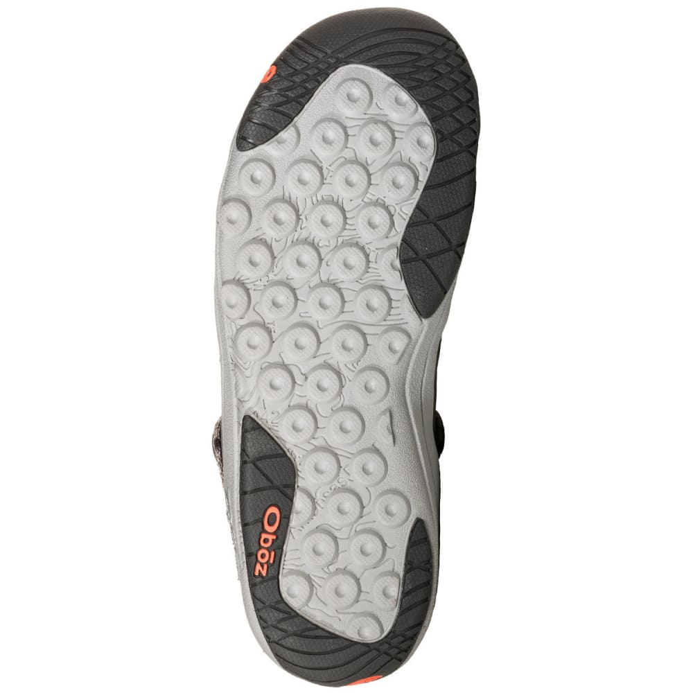 OBOZ Women's Campster Sandals - HEATHER GRAY/CORAL