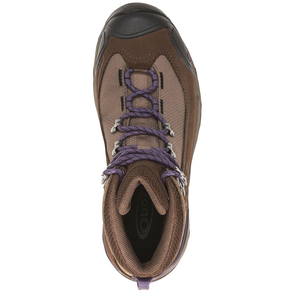 OBOZ Women's Wind River III Waterproof Mid Hiking Boots - WALNUT