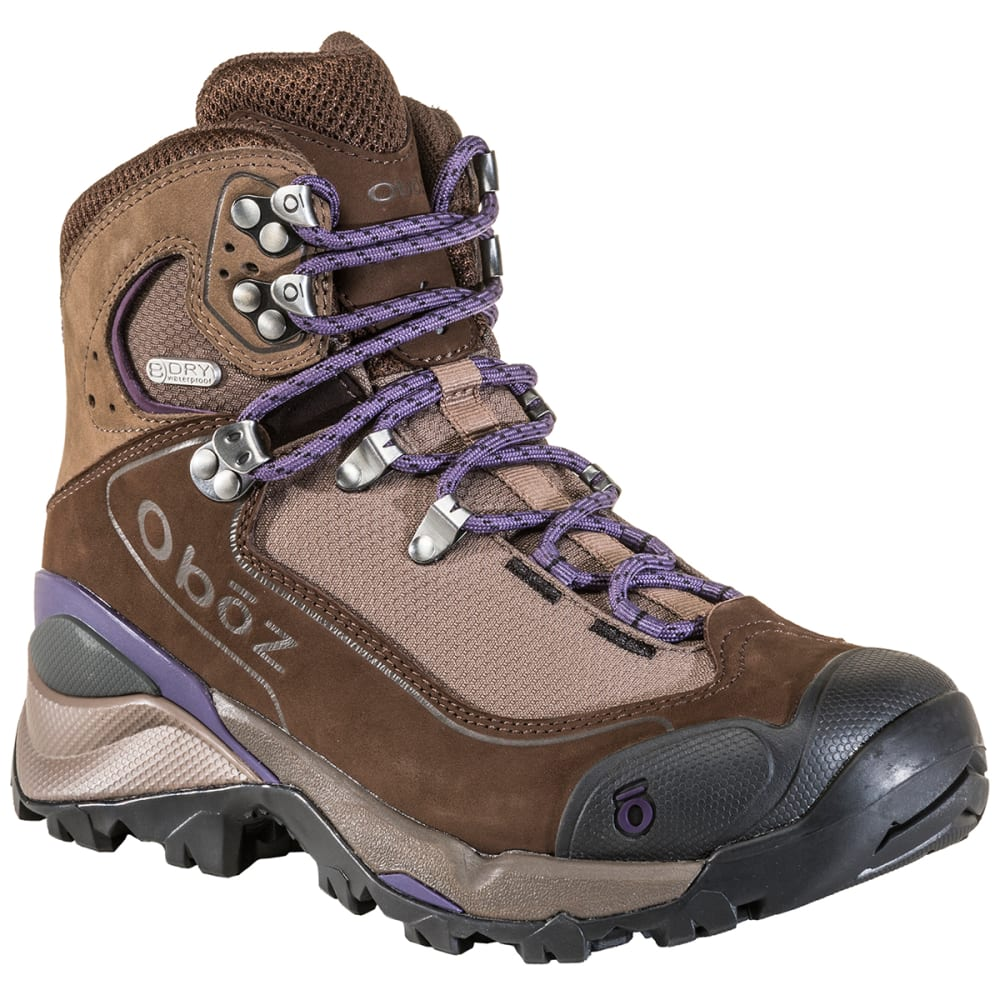 OBOZ Women's Wind River III Waterproof Mid Hiking Boots - WALNUT