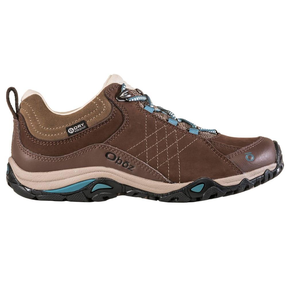 OBOZ Women's Sapphire Low Waterproof Hiking Shoes - CHESTNUT