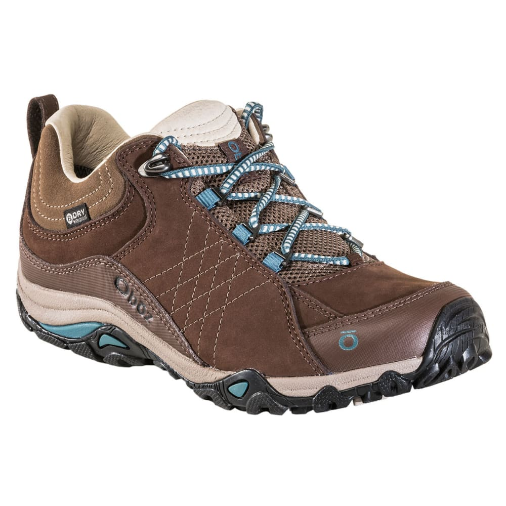 OBOZ Women's Sapphire Low BDry WP Hiking Shoes 6.5