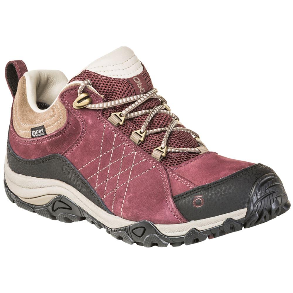 OBOZ Women's Sapphire Low Waterproof Hiking Shoes 6.5