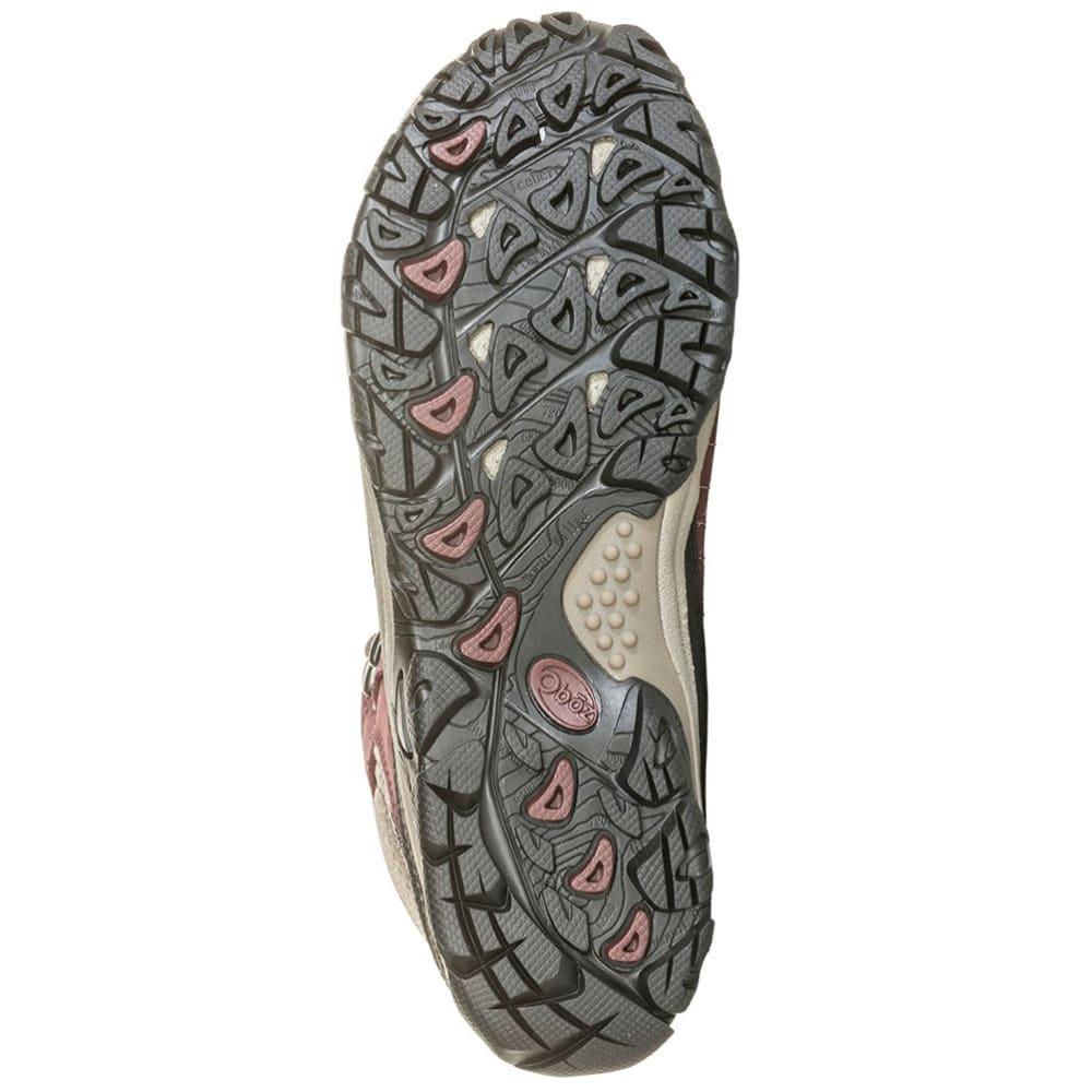 OBOZ Women's Sapphire Mid Waterproof Hiking Boots - BOYSENBERRY
