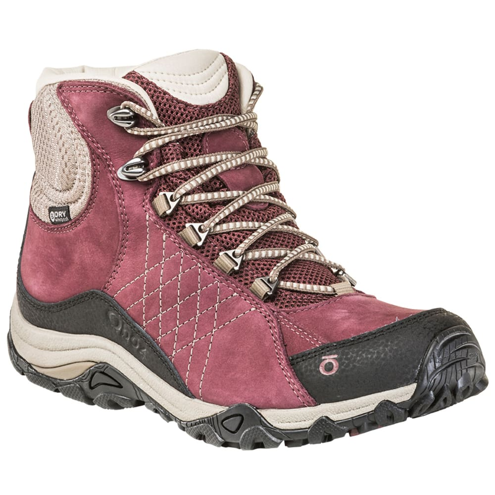 OBOZ Women's Sapphire Mid Waterproof Hiking Boots 6