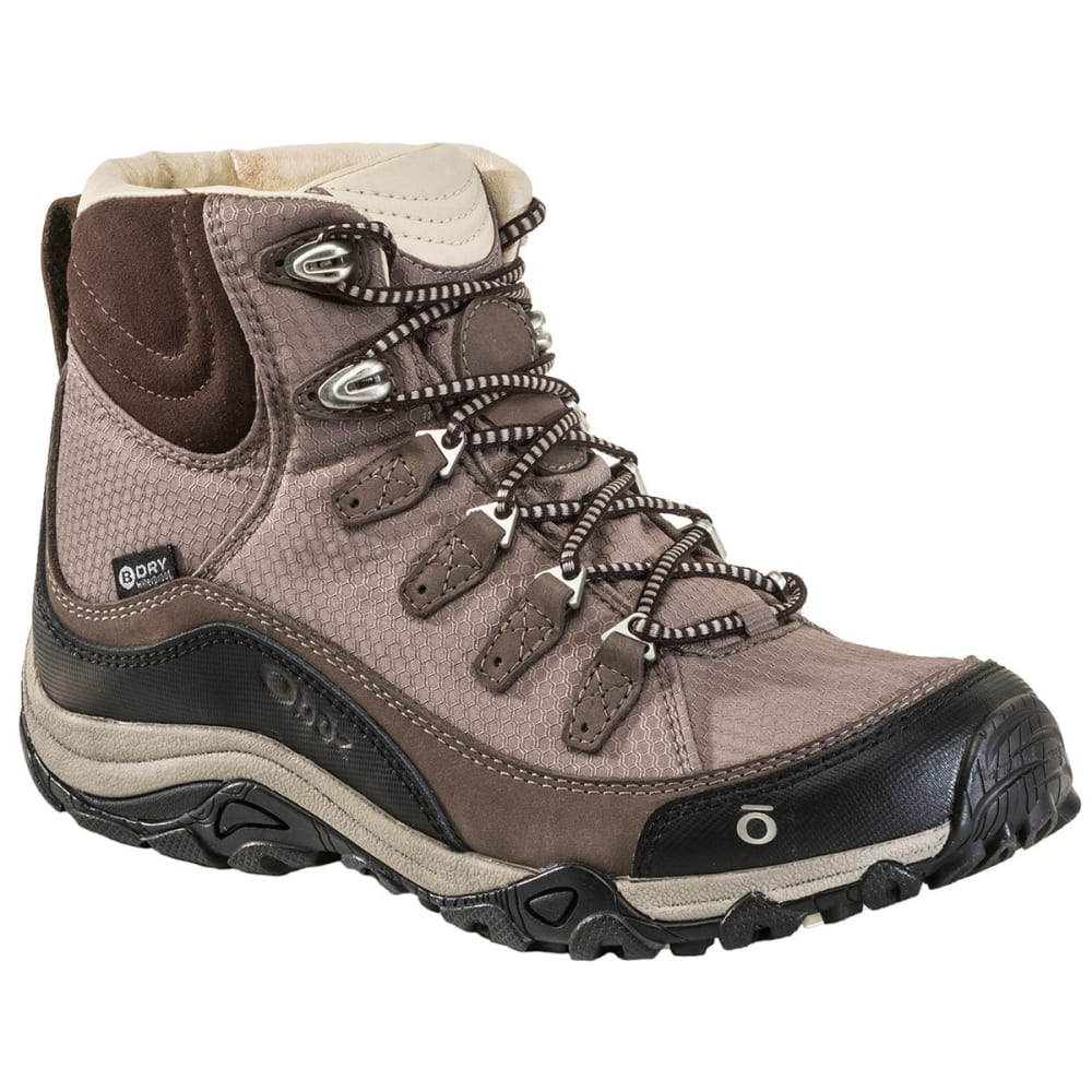 OBOZ Women's Juniper Mid Waterproof Hiking Boots 6