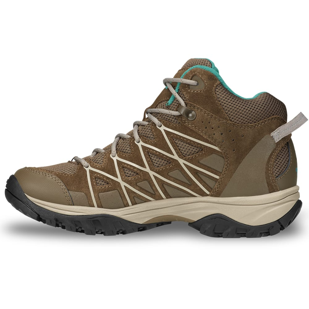 THE NORTH FACE Women's Storm III Mid Waterproof Hiking Boots - CUB BROWN