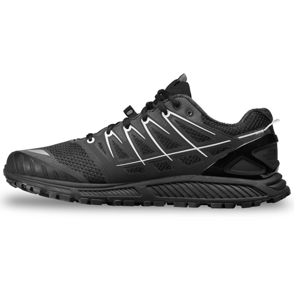 THE NORTH FACE Men's Ultra Endurance II Trail Running Shoes - BLACK