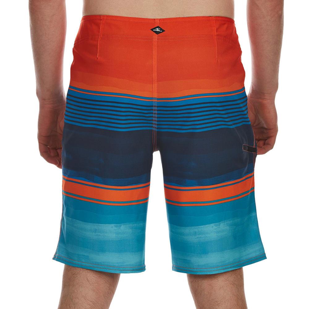 O'NEILL Guys' Brisbane Boardshorts - ORANGE-ORG