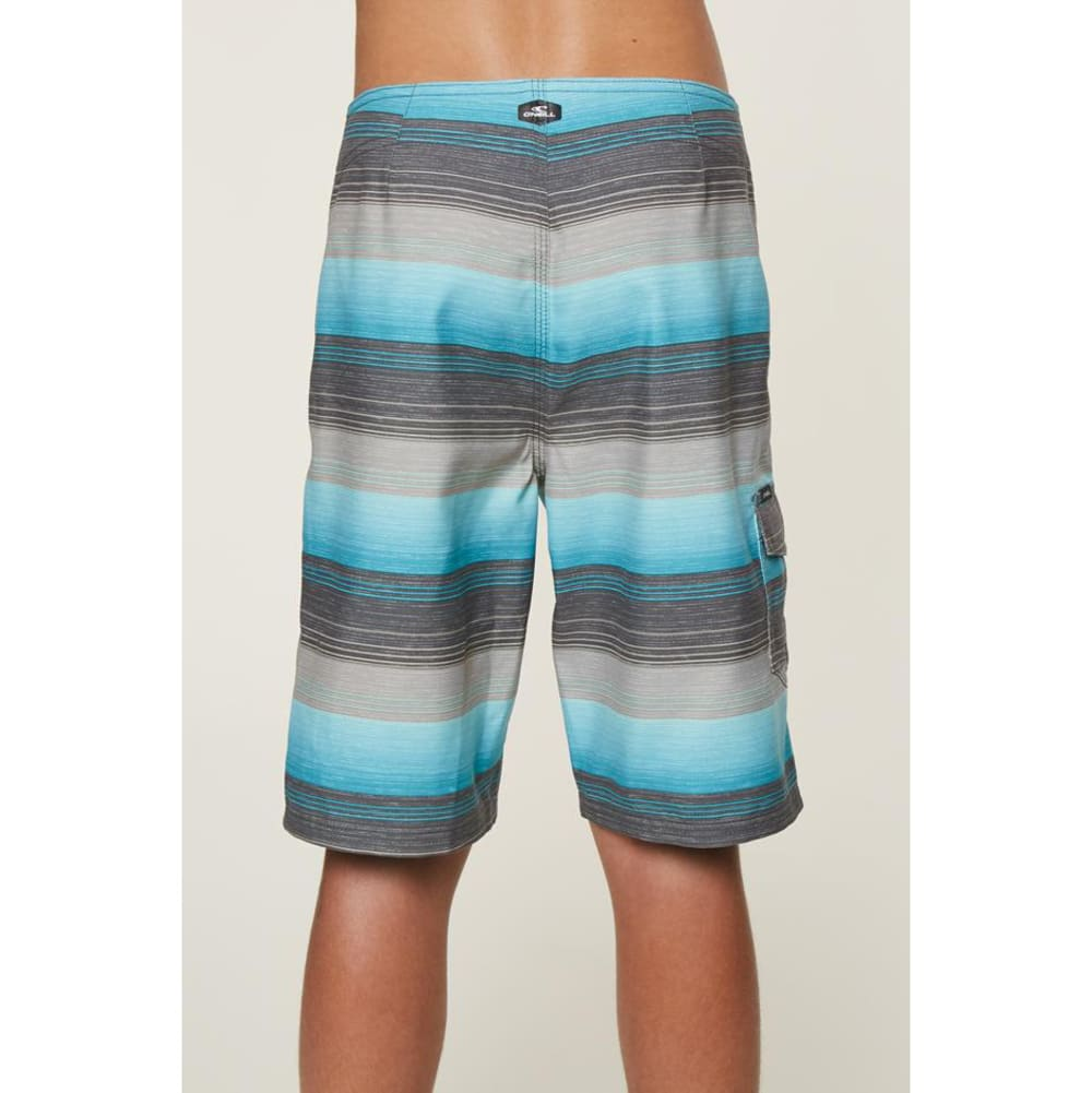 O'NEILL Big Boys' Santa Cruz Stripe Boardshorts - OCN-OCEAN