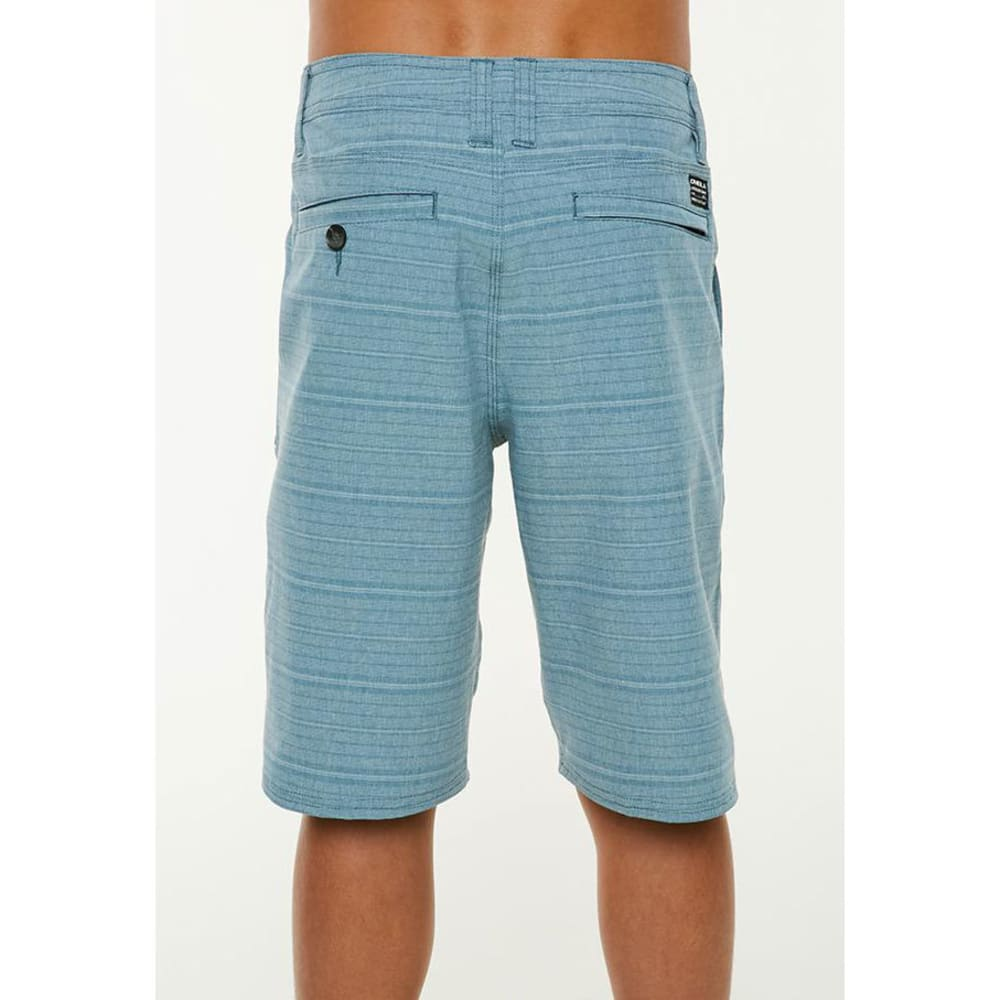 O'NEILL Big Boys' Locked Stripe Hybrid Shorts - DTL-DEEP TEAL