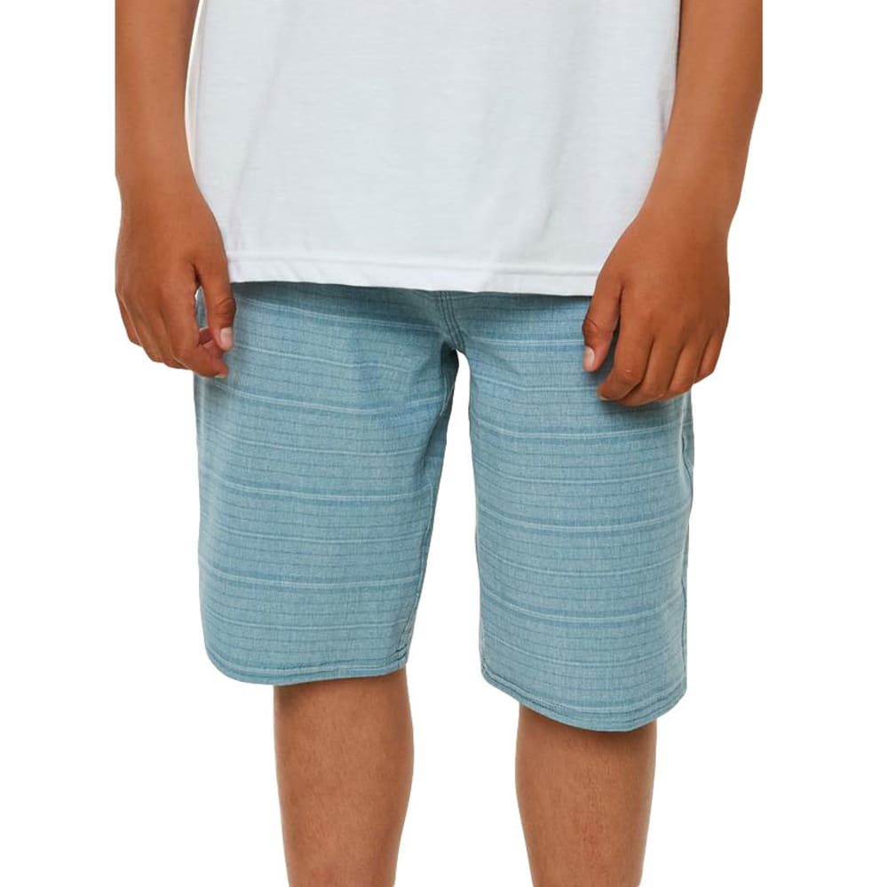 O'NEILL Big Boys' Locked Stripe Hybrid Shorts 24