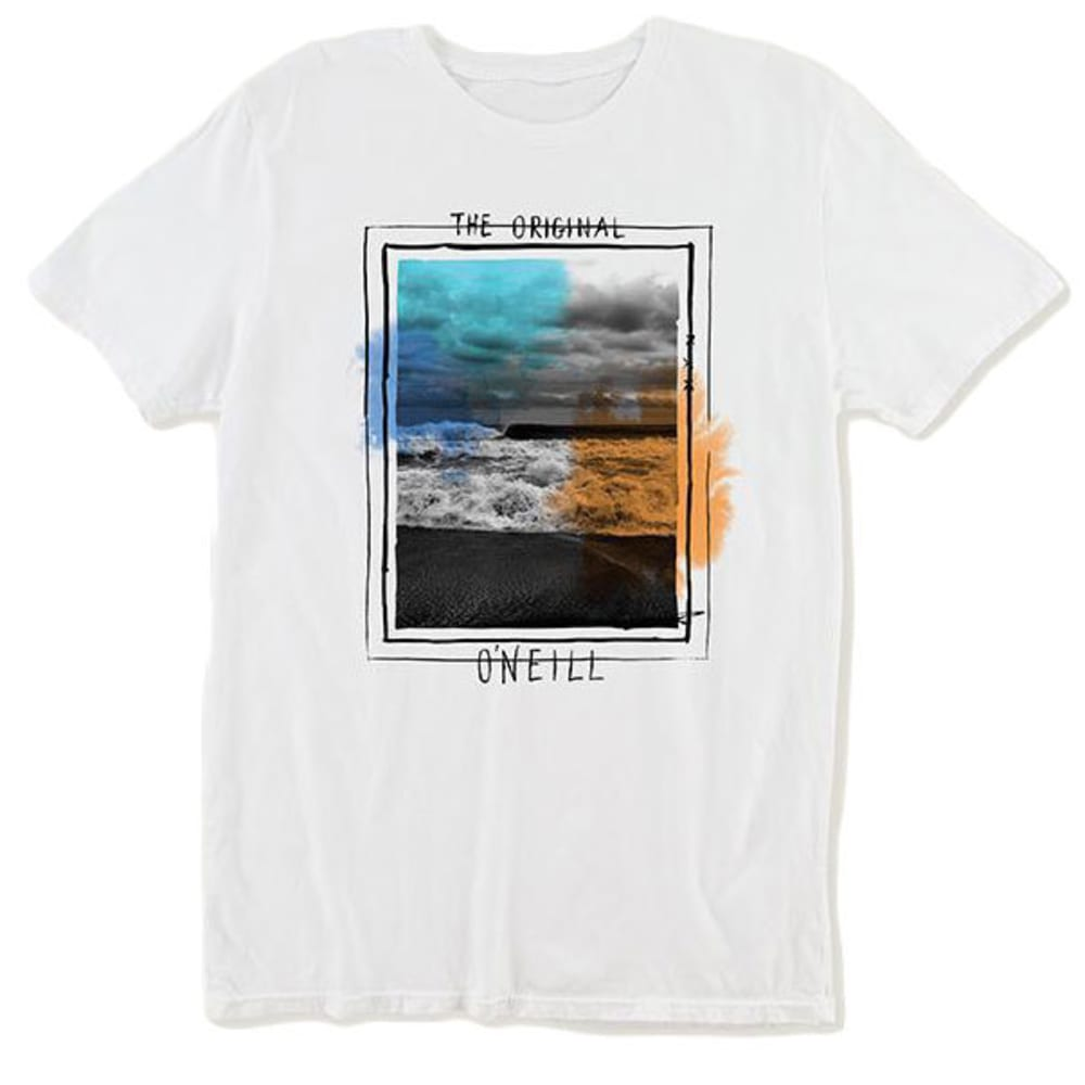 O'NEILL Boys' Tide Short-Sleeve Tee - WHITE-WHT