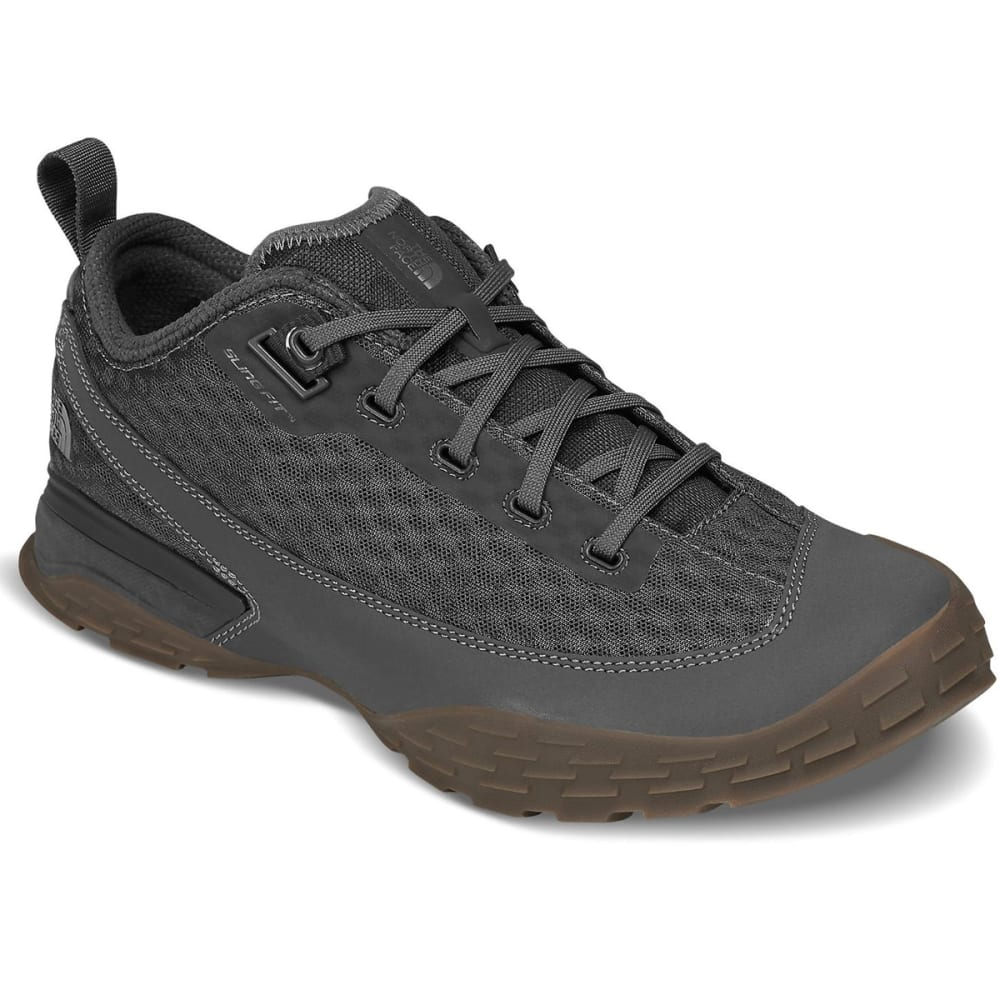 THE NORTH FACE Men's One Trail Low Hiking Shoes - DK SHADOW GREY