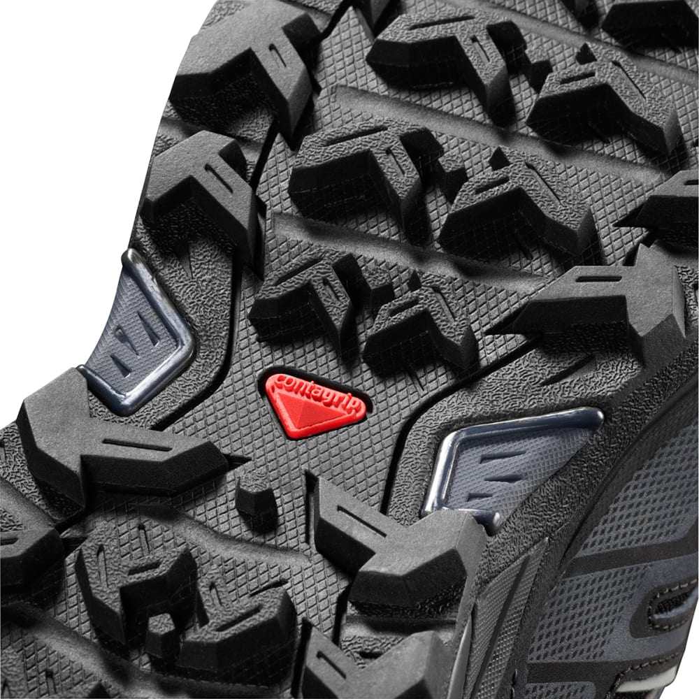 SALOMON Men's X Ultra 3 Mid GTX Waterproof Hiking Boots - BLACK
