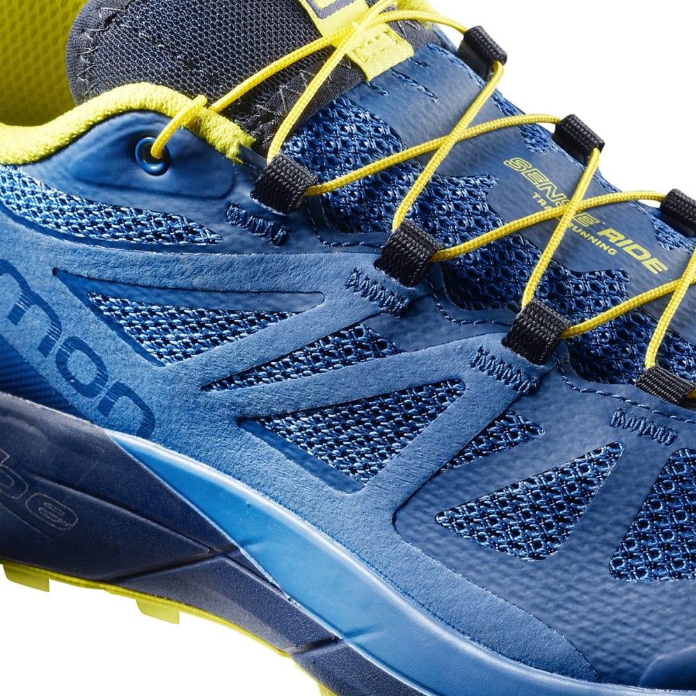 SALOMON Men's Sense Ride Trail Running Shoes - BLUE/INDIGO