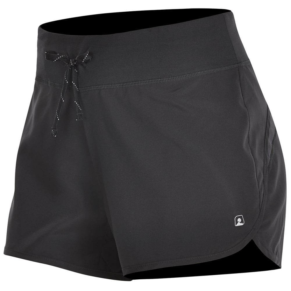 EMS Women's Techwick Impact Running Shorts - BLACK